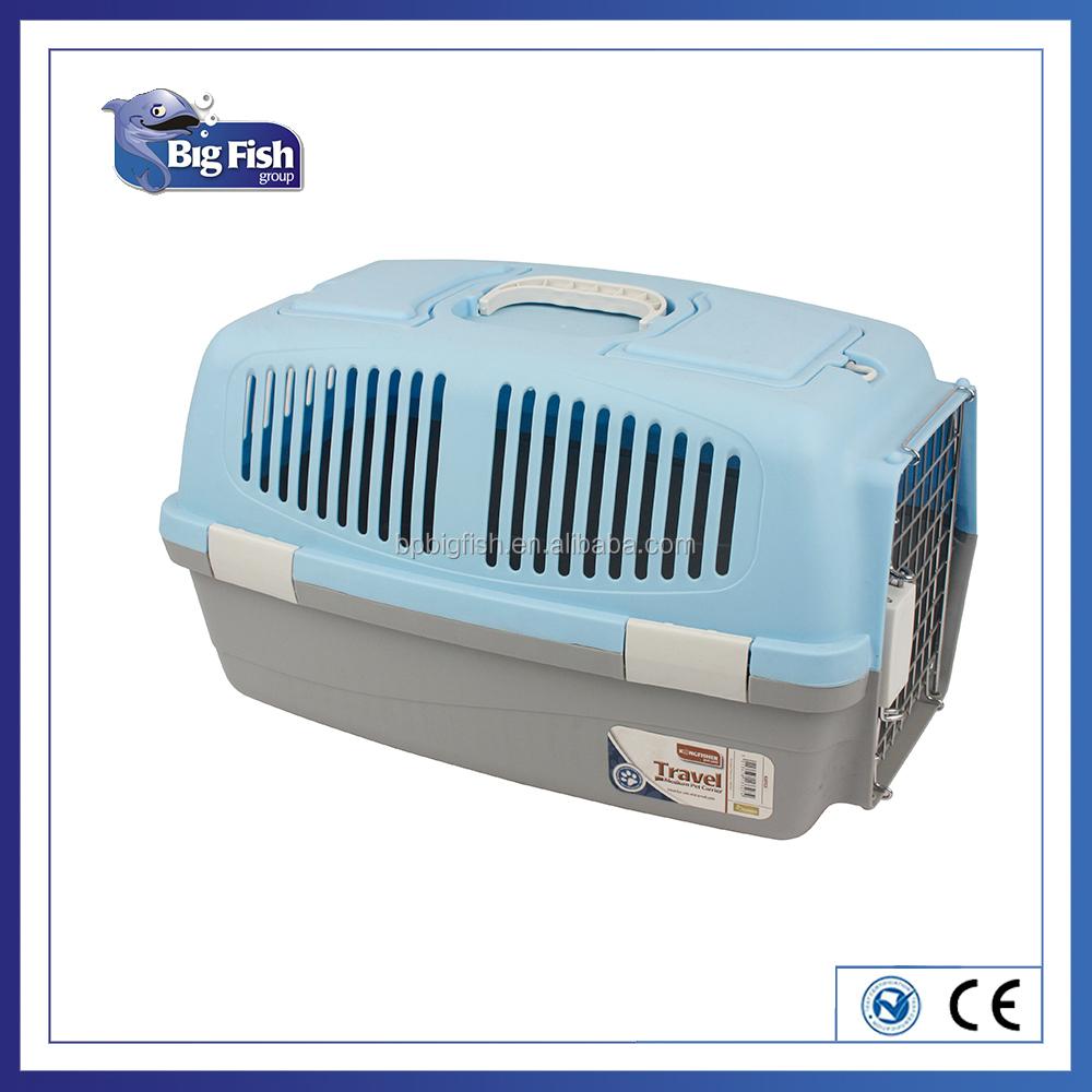 Portable Folding Plastic Dog/Cat Pet Traveler Carrier/pet