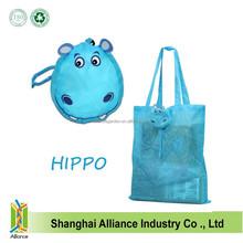 Hot Selling Nylon Animal Shape Foldable Shopping Bag,Gift Bag For Promotion