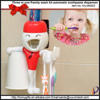 Unique innovation goods toothbrush holder animal head