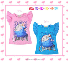 OEM full printing baby girl t shirt,wholesale cloths form China alibaba