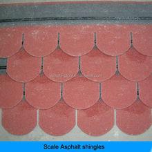 fish scale round asphalt shingle sale