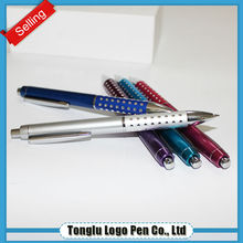 Wholesale factory offer fancy stationery different colors metal ball pen