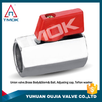 brass ball valve/f 4 inch price cw617n forged manufacturer mini electric motorized floating 3 way