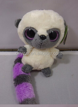 lemur plush toys/China guangzhou factory best made toys stuffed animals soft lemur plush toys