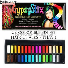 temporary hair chalk pen/color chalk for colorful hair dye chalk