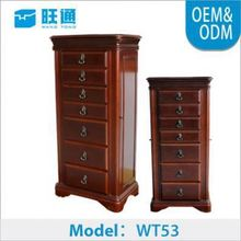 New Product Factory outlet ODM marry accessory marble ikea standing jewelry armoire mirrors