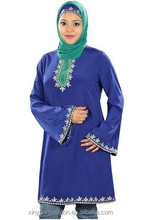 Fashion design muslin ladies dresses with bell sleeve clothing in south africa