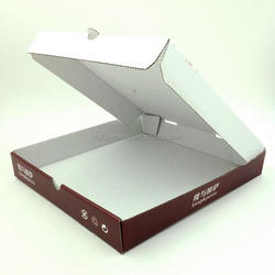 Your trusted supplier white plain paper inch pizza box