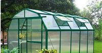 big size economical,/vegetable/flower greenhouse with metal frame for sale