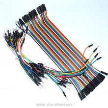 Trade Assurance 65PCS Breadboard tie line jumper cable + 40PCS Dupont wire 20cm cable Line 1P-1P Female to Female Wire