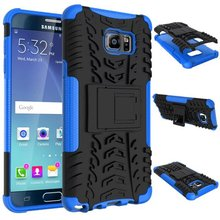 2 in 1 shookproof Stand Hard cover For Samsung Galaxy Note 5 Edge phone Case