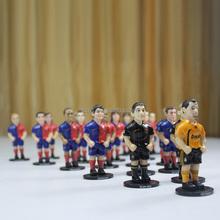 2015 lifelike custom football player action figure, world cup football player action figure, hot sale plastic football players