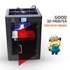 Mingda 3d printer china screen printing 300*200*400mm Prusa i3 3d house printer