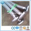 Stainless steel metal flexible hose/pipe with connection/joints/flange