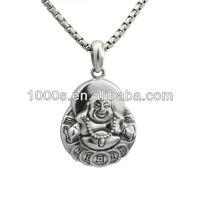 The buddha marcasite pendant