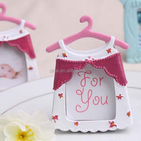 High Quality Pink Cloth Baby Photo Frame