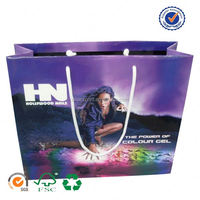 U color Customized jump from paper 3d bags