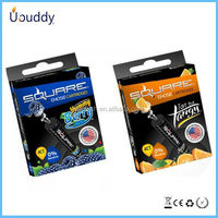 Top selling shisha cartridge 14 flavors starbuzz e hose cartridge and 17 flavors square e hose/head cartridge wholesale