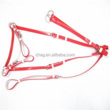 complete endurance red martingale for horse racing