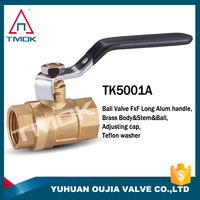 1/2 3/4 1inch forged NPT female male thread iron handle copper ball full port PN40 600wog cw617n PTFE sated brass ball valve