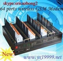 low cost 64 port gsm sms modem quectel m35 gprs gsm module kb 64 sim slots gsm modem change imei dual sim card router