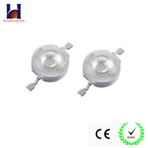 factory price epileds chip 1w cyan hig power led 495nm 500nm