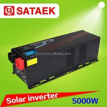 China manufacturer pure sine wave dc to ac solar inverter 5000w