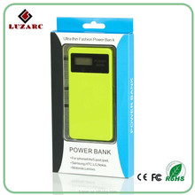 Wholesales High Quality Flashlight USB Power Bank for macbook pro /ipad mini with lcd screen