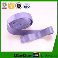 Factory Supply High Tenacity Custom Design Fuzzy Elastic Strap For Bra Shoulder