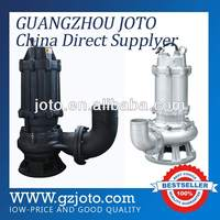 WQ high flow submersible dirty water pump large capacity for mine factory