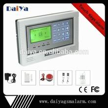 Daiya de alarma gsm con inalámbrico inteligente anti robo de DY-40A