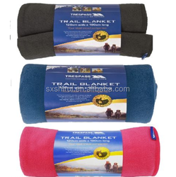 Fleece blankets Trespass Trail Blanket ideal for camping outdoor Travel 180*120