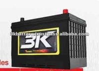Maintenance Free Sealed 12V Japan Car Battery