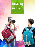 Hot Sale New Design Multi-functional Waterproof Lightweight Professional Shockproof Dslr Camera Backpack