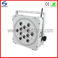 MEGA LED Lighting/wireless powered led par12 light stage light alibaba china supplier