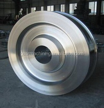 OEM Large Size Forging wheel parts with High precision