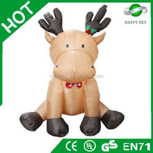 2015 Brand New Design Hot sale inflatable christmas decoration dog, christmas inflatable product, inflatable xmas decoration