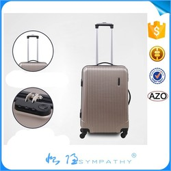Hot seller ABS luggge new design popular cheap price travel bag luggage