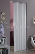 Room divider rail pvc wall panel plastic accordion door