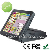 """Hot-selling 15"""" touch screen tablet pc, true flat touch epos"""
