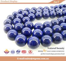 2014 semipreziose ingrosso perline 10mm naturale lapislazzuli pietre per gioielleria