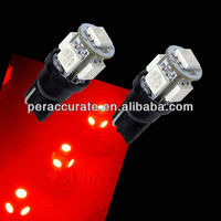 Wholesale T10 5SMD 5050 194 168 W5W Auto LED Light Automobile Bulbs 12V
