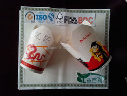 Disposalbe paper sushi take out containers