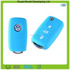 2015 Hot selling wholesale silicone rubber ket head hole cover car key for VW brand cars