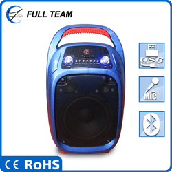 China manufacture 6.5 inch speakers subwoofer 1200w with handle and wheels from Coiwin supplier