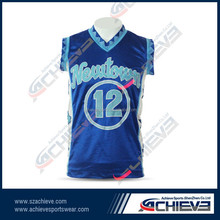 Custom Sublimation basketball shooting shirts