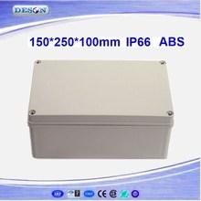 150*250*100mm Electrical ABS/PC IP66 Waterproof Enclosure , Waterproof Box Series DS-AG-1525