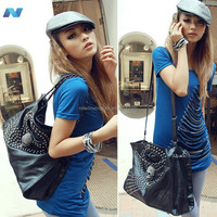 New Stylish Fashion Women's Handbag Shoulder Bags Tote Bag Black