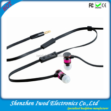 2014 hot sale promotion earphone for Brazil world cup gift for football games
