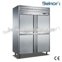 K2N-EC / China hot sale vertical industrial refrigerator freezer with GN pans